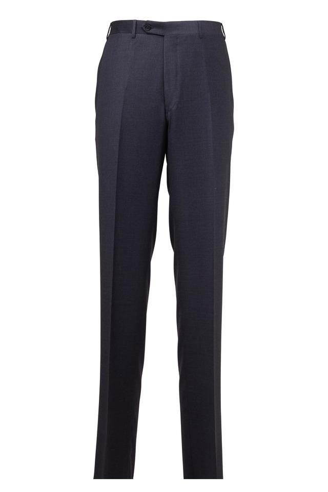 Charcoal Gray Wool Pants
