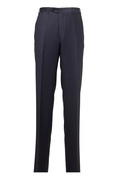Canali - Charcoal Gray Wool Pants
