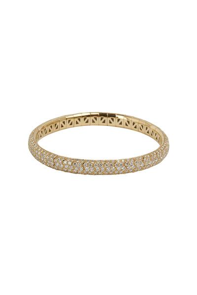 Mattia Cielo - Universo Yellow Gold White Diamond Bracelet