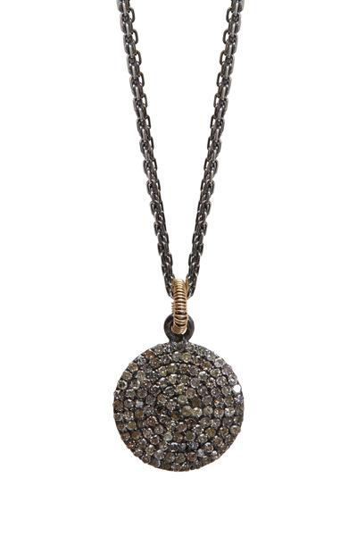 Dana Kellin - Gold Pavé-Set Diamond Pendant