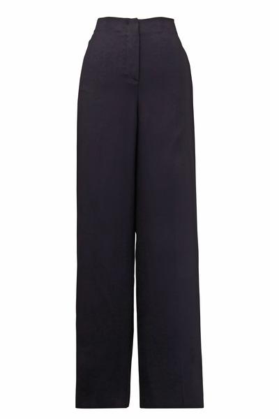 Giorgio Armani - Black Polyester Pants