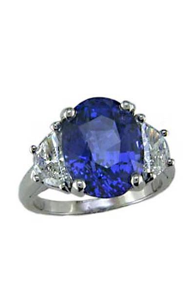Oscar Heyman - Sapphire Diamond Ring