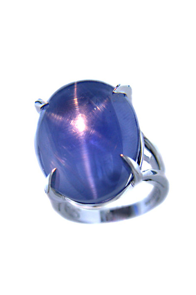 Oscar Heyman - Star Sapphire Platinum Ring