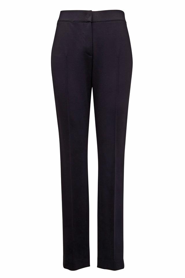 Mara Black Viscose Pants