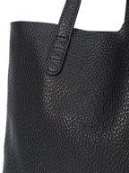 Mansur Gavriel - Black Pebbled Soft Leather Large Tote
