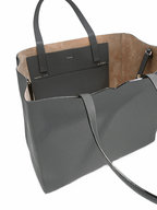Valextra - Dark Grey Large Soft Carryall Tote