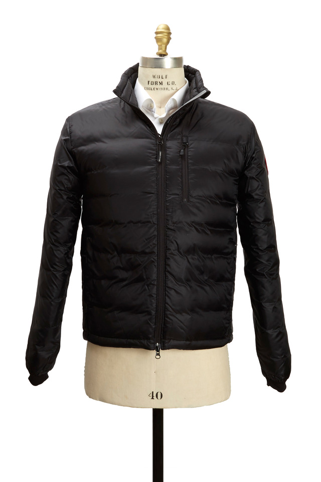 Lodge Black Down Jacket