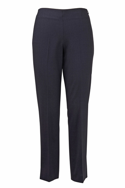 Brunello Cucinelli - Anthracite Wool Stretch Pants