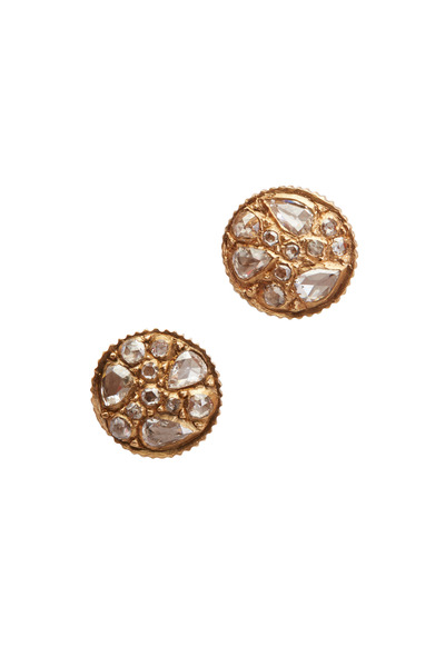Yossi Harari - Sara Pear Diamond Stud Earrings