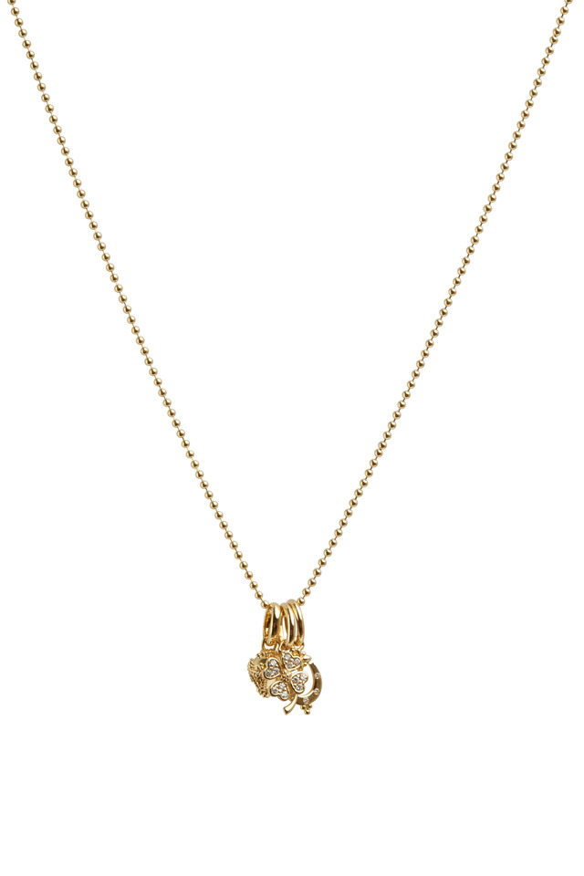 Yellow Gold Lucky Charm Gift Set