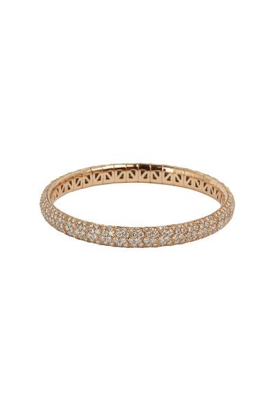 Mattia Cielo - Rose Gold Spring Diamond Bracelet