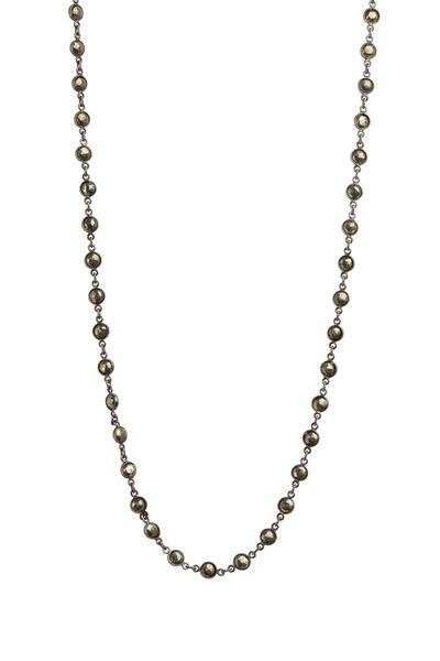 Loriann - Round Pyrite Necklace