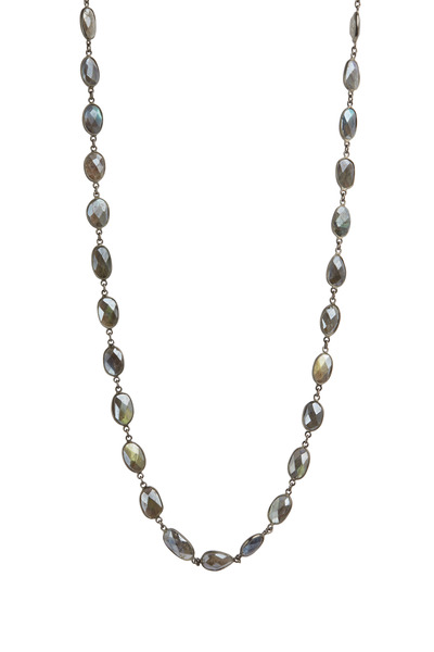 Loriann - Mystic Labradorite Necklace