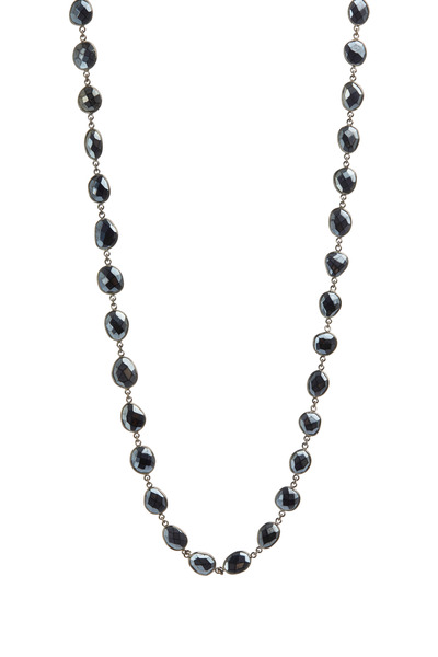 Loriann - Black Mystic Spinel Necklace