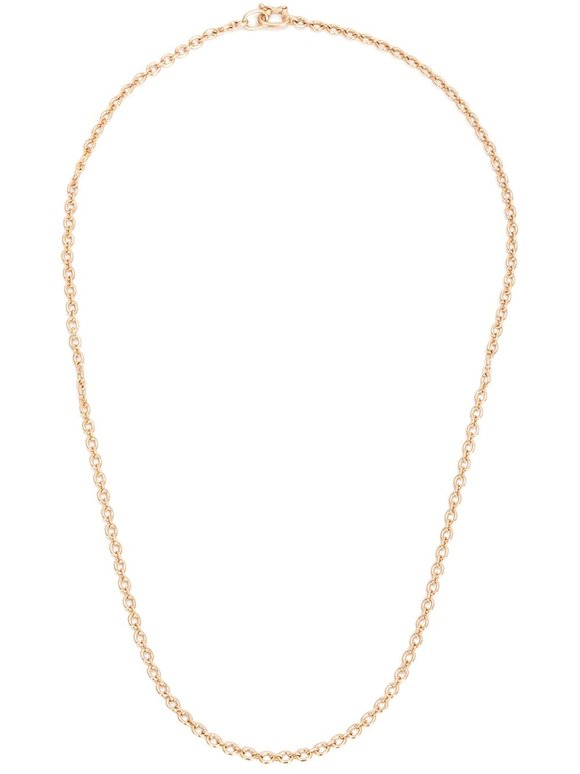 Irene Neuwirth 18K Rose Gold Oval Link Chain Necklace
