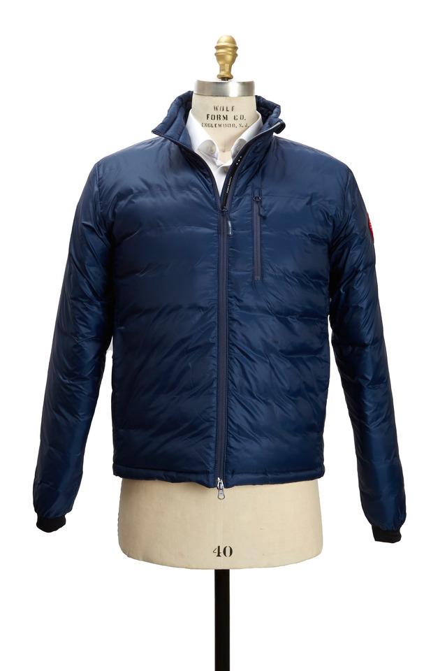 Lodge Blue Down Jacket