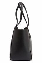 Gucci - Swing Black Leather Small Tote