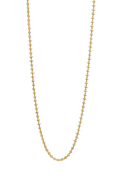 Eddie Borgo - Yellow Gold Plated Opal Cone Necklace