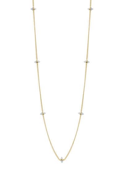 Eddie Borgo - Yellow Gold Opal Gemstone Cone Necklace