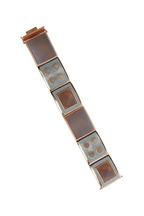 Eddie Borgo - Rose Gold Inlaid Agate & Enamel Bracelet