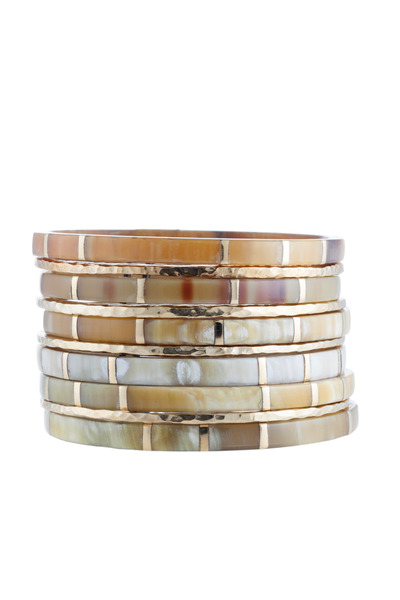 Ashley Pittman - Bora Bangles, Set Of Ten