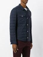 Brunello Cucinelli - Navy Nylon Water-Repllent Qulited Nylon Jacket