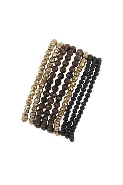 Brunello Cucinelli - Multi Color Agate Convertible Bracelet & Necklace