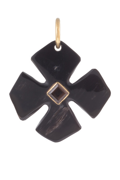 Ashley Pittman - Kimalta Horn Clover Pendant