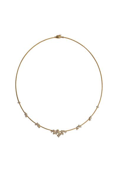 Paul Morelli - Gold Wire Confetti Necklace