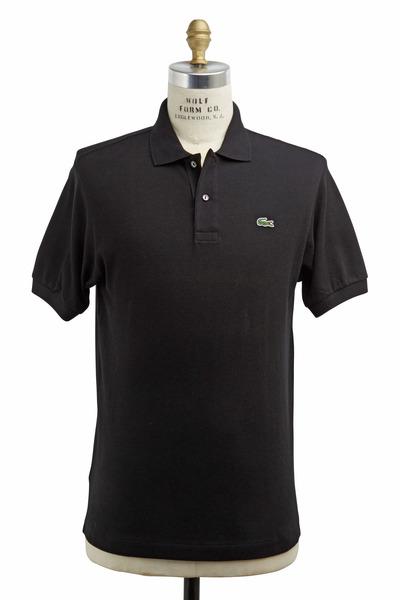 Lacoste - Black Cotton Polo