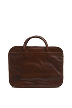 Moore & Giles - Brown Titan Milled Luggage Case