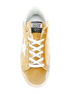 Golden Goose - Women's Superstar Gold Velvet Low-Top Sneaker