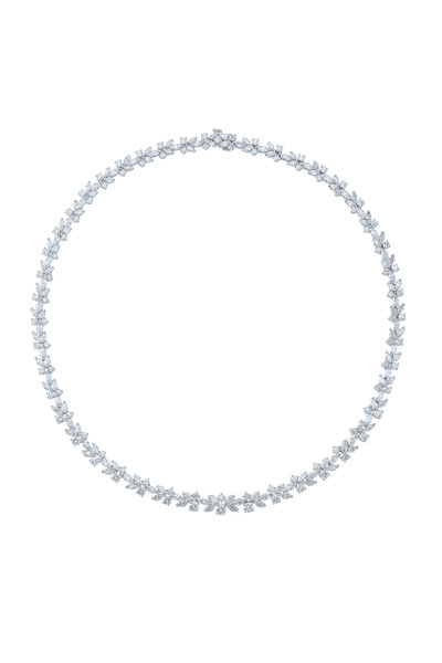 Kwiat - American Beauty Platinum Diamond Necklace