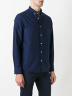 Officine Generale - Anytime Navy Oxford Sport Shirt