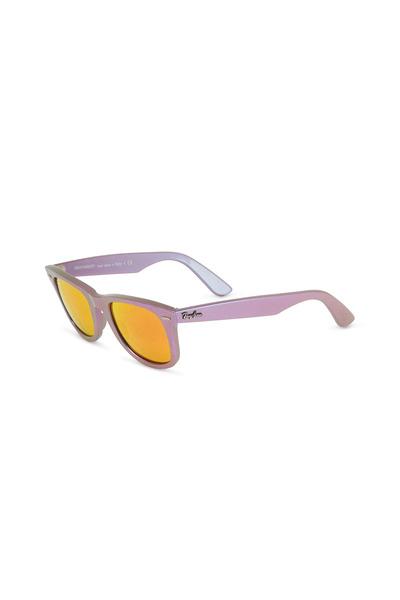 Ray Ban - Cosmos Mars Wayfarer Lavender Sunglasses