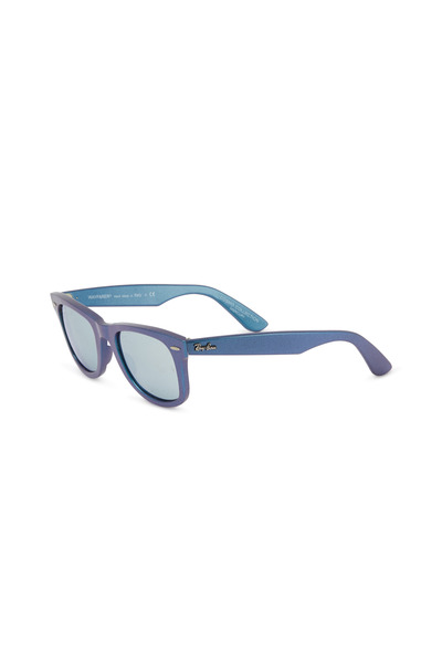 Ray Ban - Cosmos Mercury Wayfarer Blue Sunglasses
