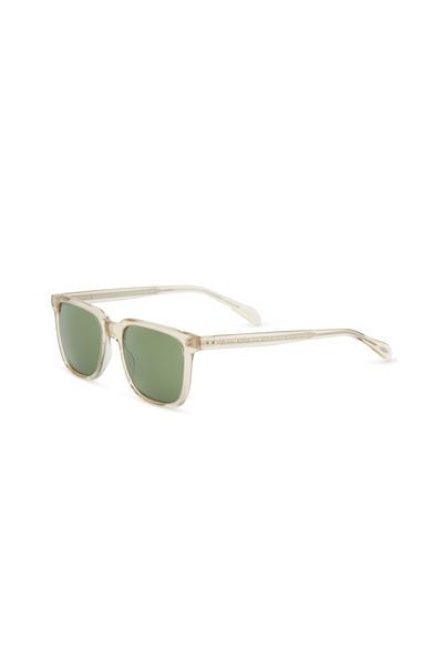 Oliver Peoples - Transparent Square Sunglasses