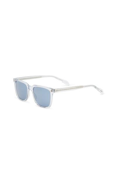 Oliver Peoples - Transparent Cobalt Lens Sunglasses