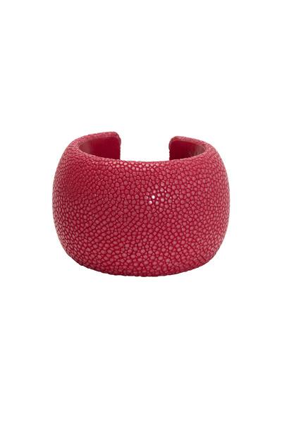 Kathleen Dughi - Fuschia Stingray Raya Cuff Bracelet