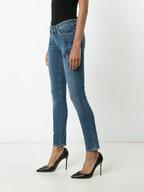PAIGE - Skyline Ankle Peg Star Embroidered Jean