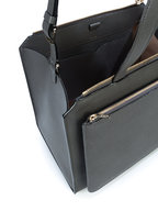 Valextra - Passpartout Grande Grey Bag