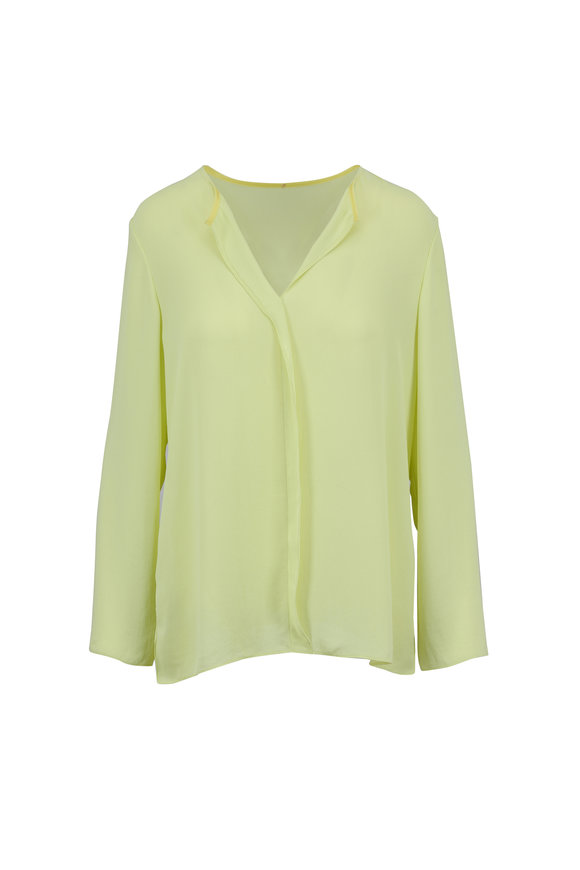 Peter Cohen Lime Green Blouse