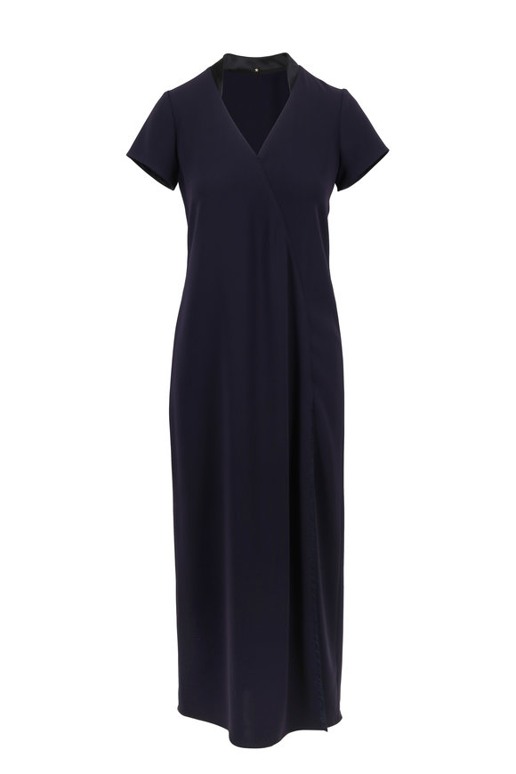 Peter Cohen Verve Midnight Short Sleeve Midi Dress