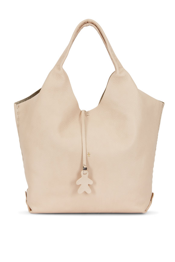 Henry Beguelin Canotta Happy Beige Cervo Hobo Bag