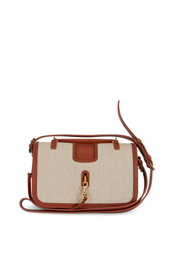 Saint Laurent Charlotte Canvas Medium Messenger Bag