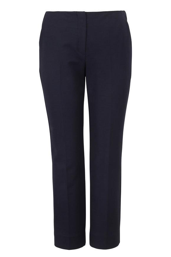 Emporio Armani Navy Stretch Slim Pant