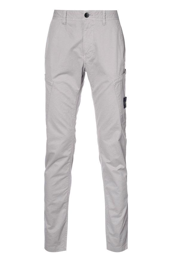Stone Island Dove Grey Cargo Pant
