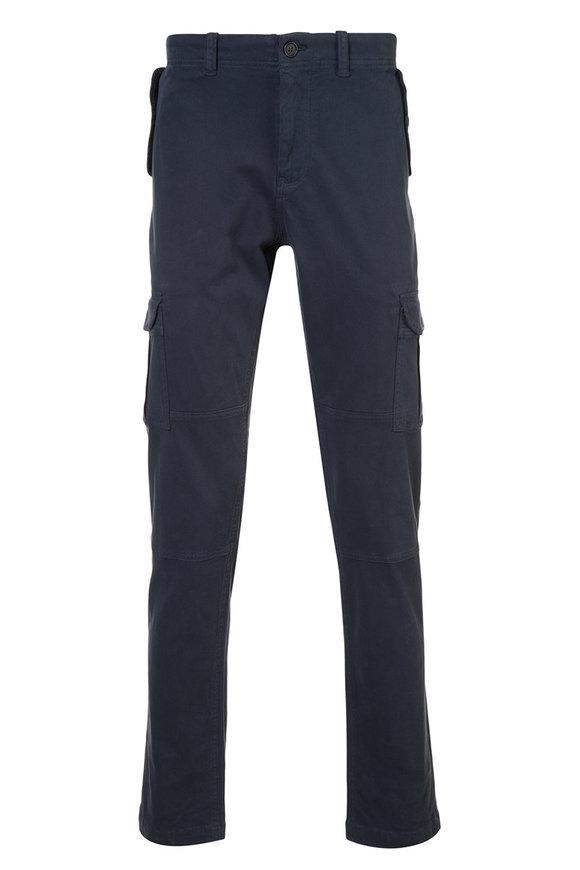 Michael Bastian Navy Blue Cargo Pant
