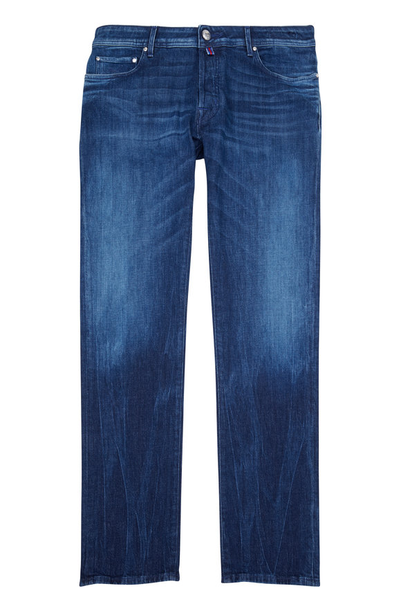 Jacob Cohen  Slim Rinse Blue Patch Jean