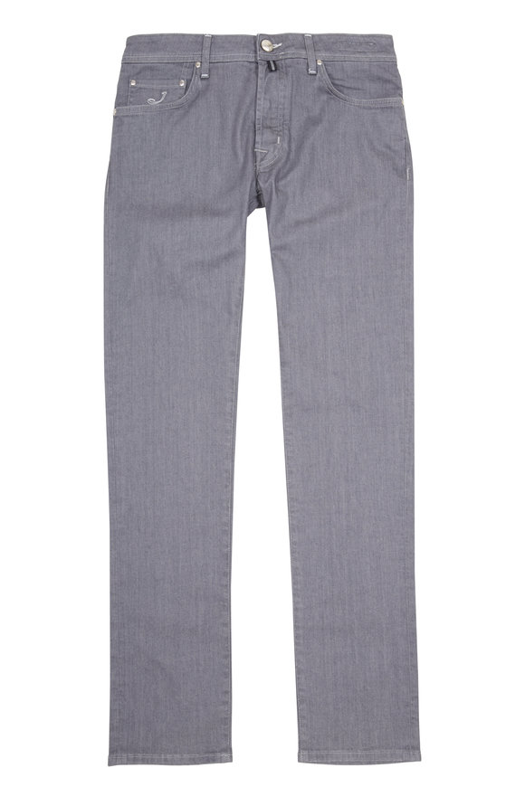 Jacob Cohen  Grey Rinse Slim Jean